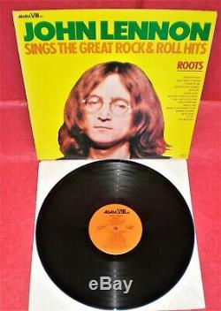 LP JOHN LENNON ex Beatles ROOTS USA 1975 ADAM VIII # 8018 Original vg+++