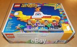 Lego 21306 The Beatles Yellow Submarine NEW
