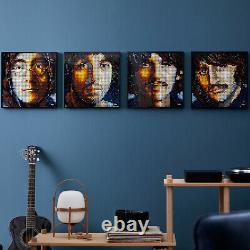 Lego 31198 Art The Beatles Portrait Display Canvas Building Set 2933 Pieces 18+