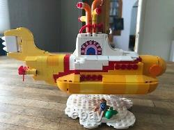 Lego Beatles Yellow Submarine. ALL MINIFIGS INCLUDED