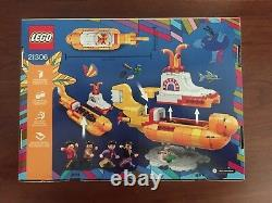 Lego IDEAS The Beatles Yellow Submarine 21035 Retired Set (Brand New)