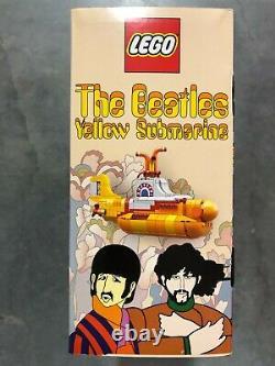 Lego Ideas (21306) THE BEATLES YELLOW SUBMARINE Retired Set 2016 NEW