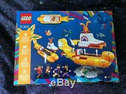 Lego Ideas 21306 The Beatles Yellow Submarine Brand New Retired Set