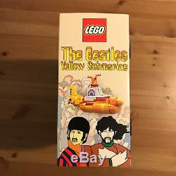 Lego Ideas 21306 The Beatles Yellow Submarine Brand New & Sealed, Retired Set