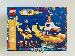 Lego Ideas 21306 The Beatles Yellow Submarine NISB