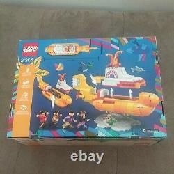 Lego Ideas 21306 The Beatles Yellow Submarine New never opeed