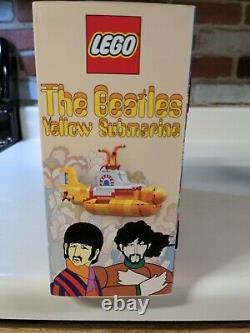 Lego Ideas The Beatles Yellow Submarine 21306 New and Sealed