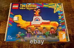 Lego Ideas The Beatles Yellow Submarine 21306 new and sealed set