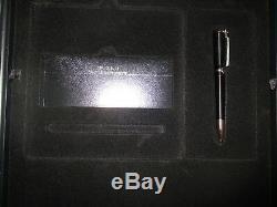 Limited Edition JOHN LENNON Mont Blanc Ballpoint Pen Complete WithCase +45 BEATLES