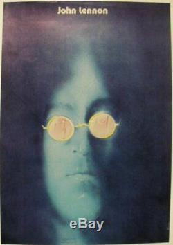 Limited-edition signed original 1985 vintage Polish poster! BEATLES John Lennon