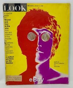 Look Magazine January 9, 1968 John Lennon / Beatles by Avedon
