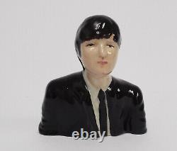 Lorna Bailey The Beatles John Lennon Black Suit Prototype Signed On Base Rare