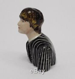 Lorna Bailey The Beatles John Lennon Black & White Pinstripe Suit Prototype Rare