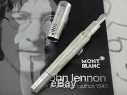 MONTBLANC John Lennon The Beatles Commemoration 1940 Limited Edition #1852/1940