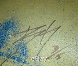 Matt Dey Signed John Lennon Screen Print Art Poster #3/5 Blunt Graffix Beatles
