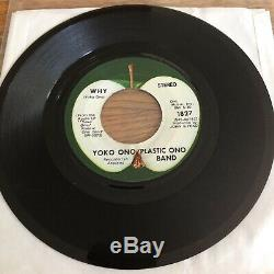 Mother Why John Lennon Apple 1827 Withrare PS! Near Mint! Original Sleeve Beatles