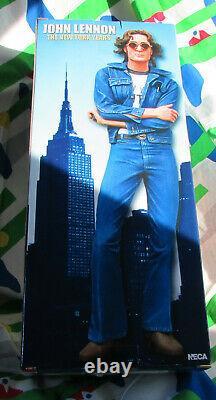 NECA 18 Motion Activated Sound John Lennon The New York Years Beatles Figure