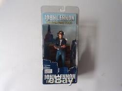 NECA John Lennon The New York Years 7 Action Figure Beatles Music Memorabilia