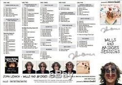 NEW JOHN LENNON WALLS AND BRIDGES SESSIONS 5CD BEATLES MisterClaudel