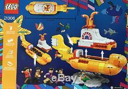 NEW LEGO Ideas Beatles Yellow Submarine 21306 2016