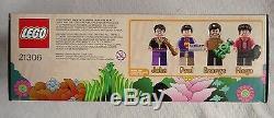 NIB LEGO Ideas 21306 The Beatles Yellow Submarine Set, John, Paul, Ringo, George