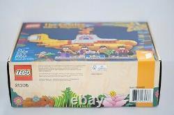 NIB/SEALED Lego Ideas (21306) The Beatles Yellow Submarine (RETIRED SET)