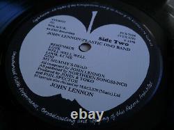 NMINT 1st UK Press 1U/1U Lennon/Plastic Ono Band Lp PCS 7124 Laminated BEATLES