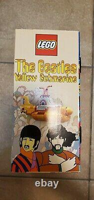 New Retired LEGO The Beatles Yellow Submarine 21306 Limited Edition Still Sealed