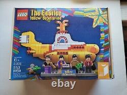New in Box, Sealed, LEGO The Beatles Yellow Submarine (21306) 553 pcs