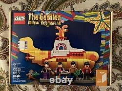 NewithSealed LEGO 21306 Ideas Yellow Submarine The Beatles Retired Set