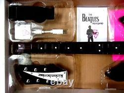 Nintendo Wii Beatles John Lennon Rock Band Rickenbacker Guitar with Dongle IOB