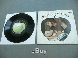 Not Sale Beatles John Lennon Ono Yoko Special Interview Extended Play Records