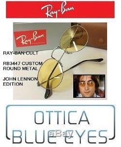Occhiale da Sole RayBan ROUND METAL 3447 Ray Ban Sunglasses JOHN LENNON BEATLES