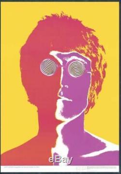 Original Authentic Beatles Poster John Lennon By Richard Avedon Done In 1967