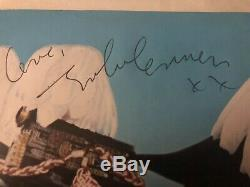 Original John Lennon, George Harrison, Paul McCartney And Ringo Autographs
