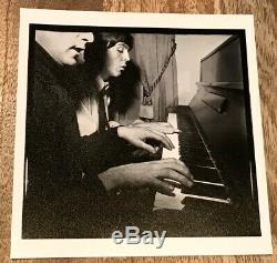 Original Photo John Lennon & Paul McCartney Signed By Harry Benson-The Beatles