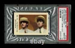 PSA 10 PAUL McCARTNEY & JOHN LENNON of The BEATLES 1965 Card HIGHEST EVER GRADED