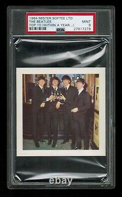 PSA 9 THE BEATLES 1964 Paul McCartney, John Lennon, George Harrison, Ringo Starr