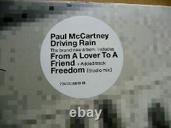 Paul McCartney DRIVING RAIN Rare UK Vinyl 2-LP Record MPL MINT-! Beatles