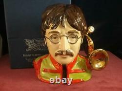 Peggy Davies Ceramics John Lennon The Beatles Character Jug Ex Royal Doulton