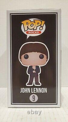Pop Funko JOHN LENNON CUSTOM Exclusive Collectible The BEATLES Rocks Chase Vinyl