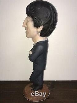 RARE 1984 Beatles John Lennon Esco Chalkware Statue Figure 17 Tall