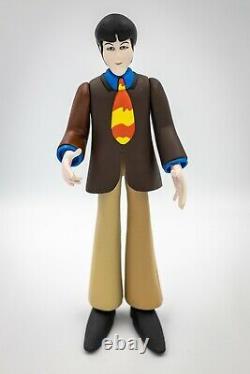 RARE Mcfarlane The Beatles Yellow Submarine Figurine Set John Lennon Ringo Paul