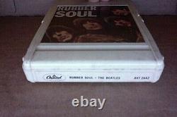 RARE ORIG 1965 1st 8 track tape by The Beatles Rubber Soul John Lennon PLAYS EX
