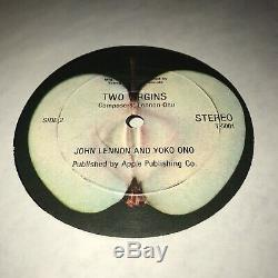 RED VINYL MISPRINT John Lennon & Yoko Ono Two Virgins The Beatles Apple Original