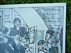 Rare Cynthia Lennon Twist John Paul George Ringo Beatles Cavern Club