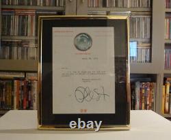 Rare Original Phil Spector Signed Note John Lennon Beatles Christmas Lp 75 Look