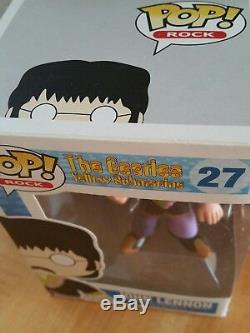Retired Funko Pop The Beatles Yellow Submarine John Lennon #27 in Box