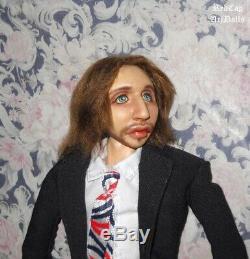 Ringo Starr Beatles inspired Art Doll Paul McCartney John Lennon George Harrison