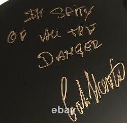 Signed Colin Hanton Beatles John Lennon Drum Rare In Spite Of All The Danger